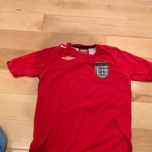 Boy's small (6/7) Umbro England soccer jersey